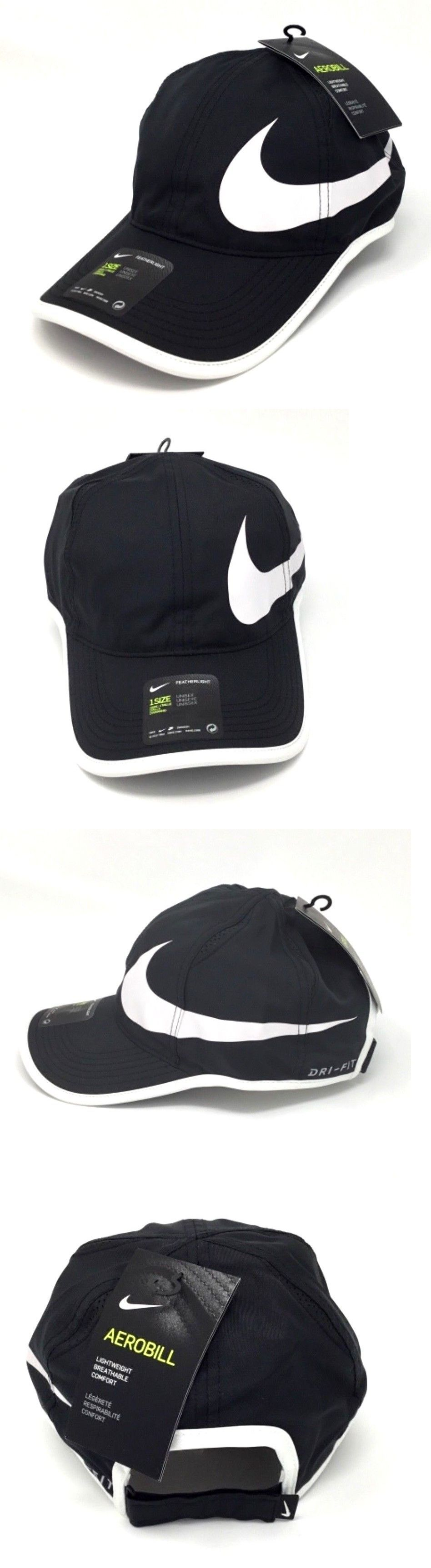 Clothing Shoes and Accessories 62229  Nike Nikecourt Aerobill Featherlight  Adjustable Tennis Hat Cap 864100 011 3f6b33dc6ba0