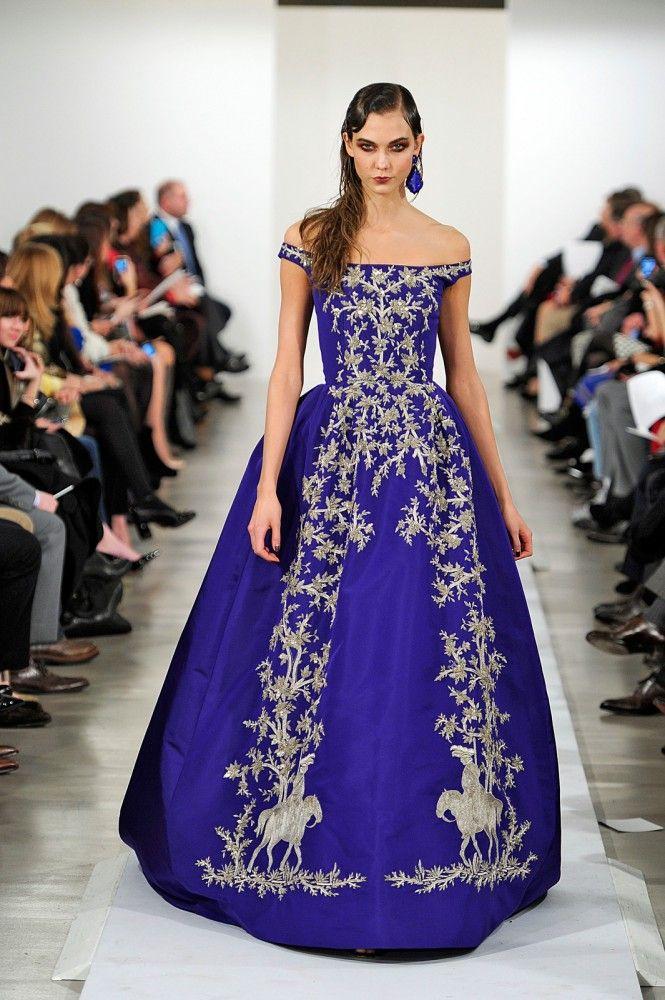 Increíble Vestido De Novia Oscar De La Renta Ideas Ornamento ...