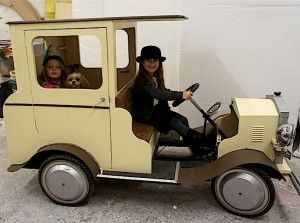 Gallery Decor Bugsy Malone Pedal Cars Baby Strollers