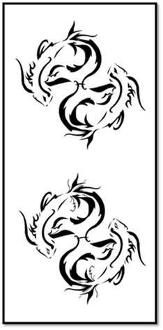 91927683c Tattoo Lawas: Tribal Pisces Tattoos Design   Tattoo / Henna Ideas ...