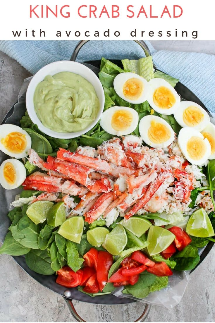 Photo of Grilled King Crab Salad