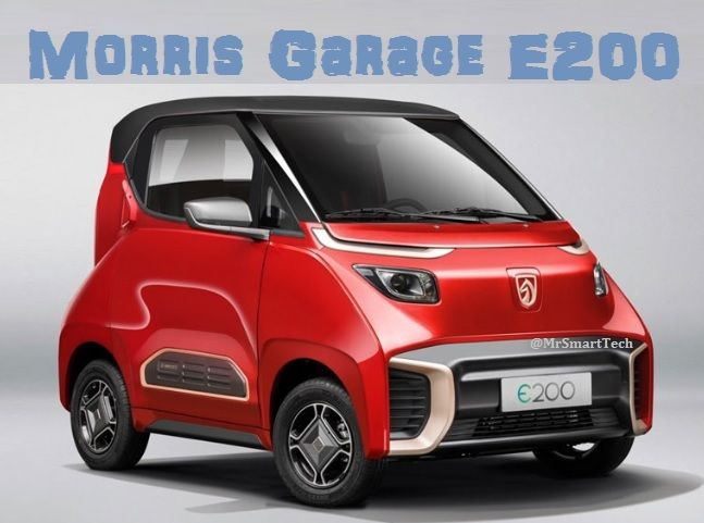 MG E200 2-Seater Electric Car is a great small car for City use.   #MGE2002 #MorrisGarage #ElectricCar #MorrisGarageEV