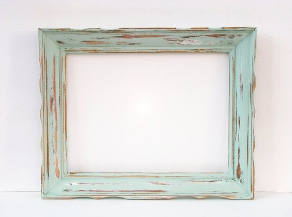 16x20 Shabby Chic Wedding Frame Chunky Wavy FRAME - You Choose Color ...