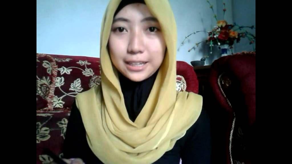 Tutorial Hijab Pashmina Dalam Bahasa Inggris