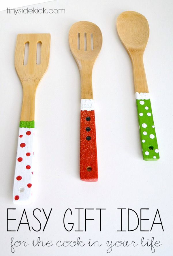 Homemade Gift Ideas: Painted Wooden Spoons - C.R.A.F.T ...