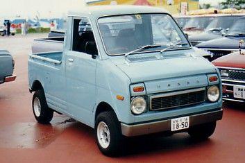 Honda Life Pickup 1974 An