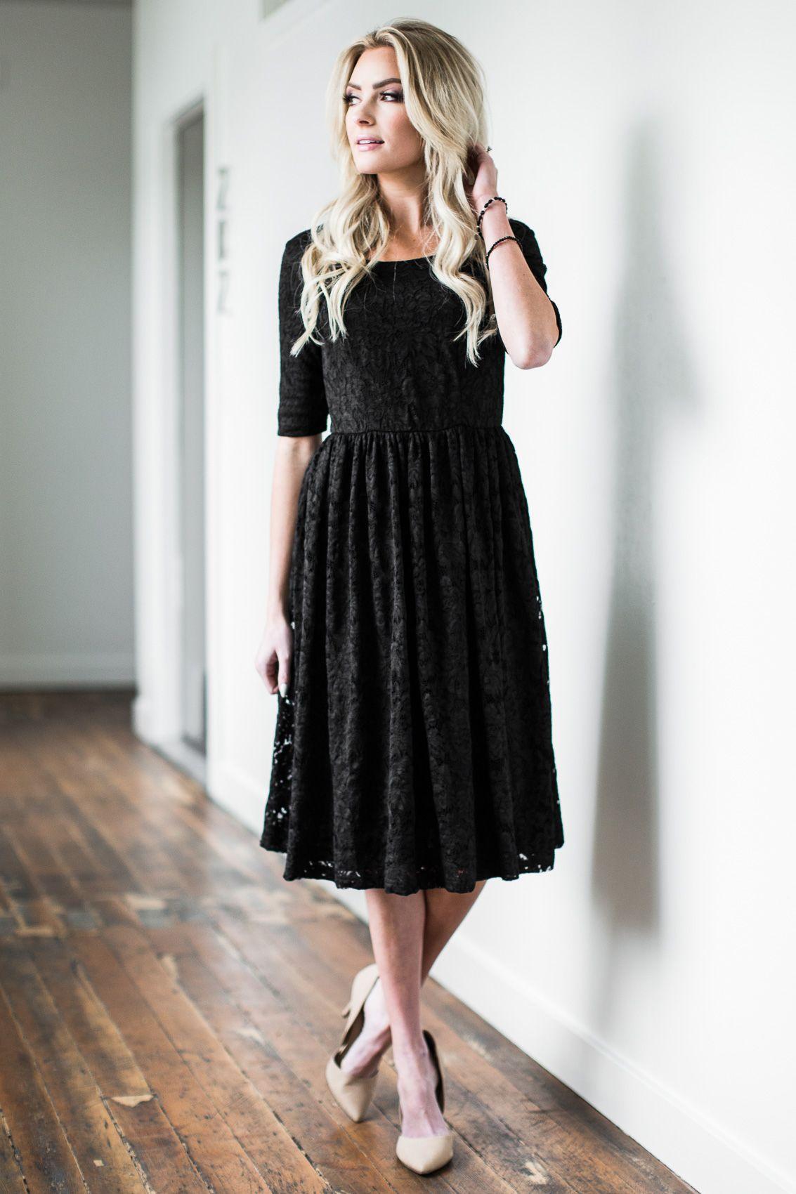13+ Black modest dress ideas in 2021
