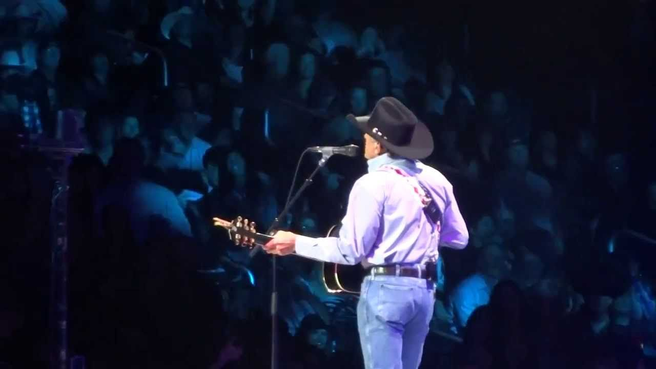 George Strait- You Look So Good In Love- Los Angeles, CA- February 8, 20...