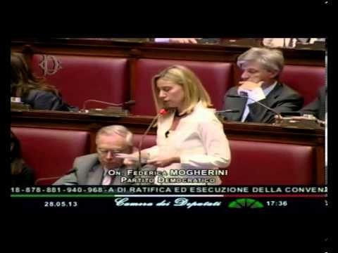 Mogherini: femminicidio è dramma che attraversa tutto il nostro Paese