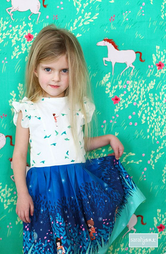 WEE WANDER DRESS Pattern: Free PDF | Kinderkleidung, Kinderklamotten ...