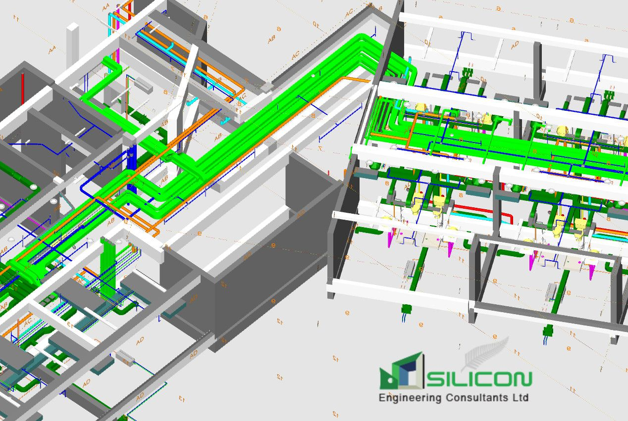 Siliconec Nz Provides Mep Shop Drawing For Hvac Fabricators Of