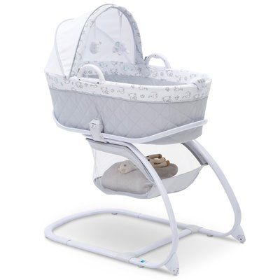 Delta Children Deluxe Moses Bassinet With Bedding In 2019 Products