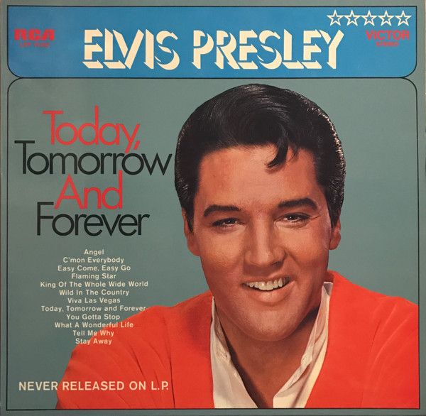 Today, Tomorrow and Forever LP  | Album Art in 2019 | Elvis