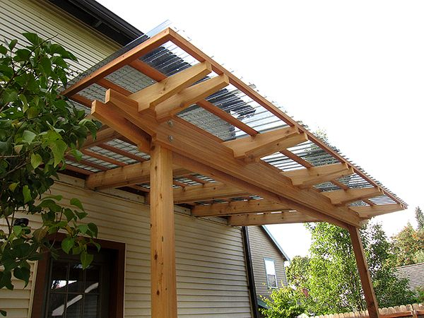 Lovely Roof Pergola Rafters