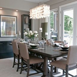 You Had Me At Grey Beige Dining Room Dining Room Small Dining