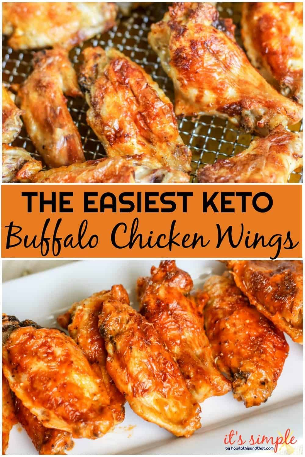 Air Fryer Wings are so easy to make, and give you that wing shop taste! Buffalo chicken wings are easy prep, and offer incredible flavor.