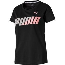 Photo of Puma Damen T-Shirt Modern Sport Graphic Tee, Größe L In Puma Black, Größe L In Puma Black Puma