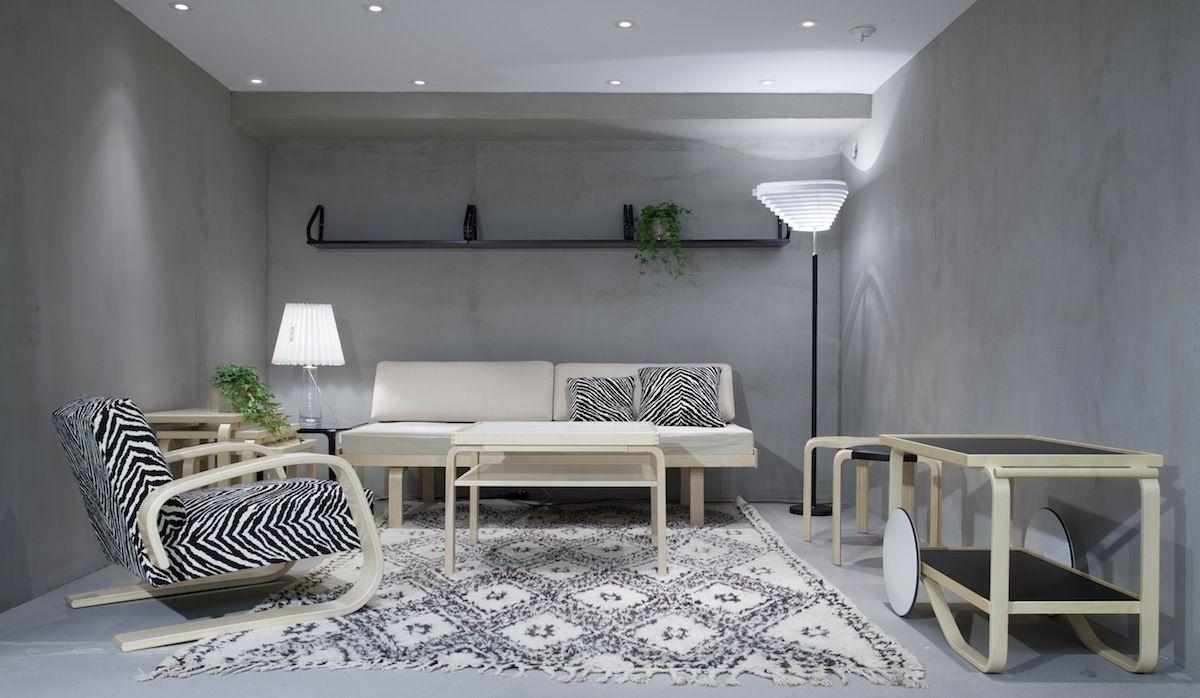 Alvar aalto house interior alvar aalto  for the home  pinterest  alvar aalto and interiors