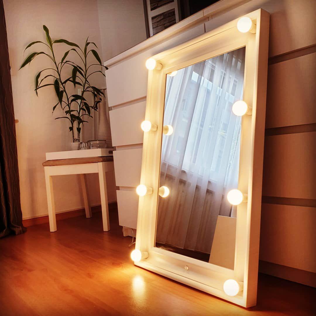 Anzeige Werbung Im Auftrag Der Schonheit Einem Ikea Hemnes Spiegel Zu Neuem Glanz Verholfen Zum Einsatz Kame Decor Vanity Mirror Wood Shop