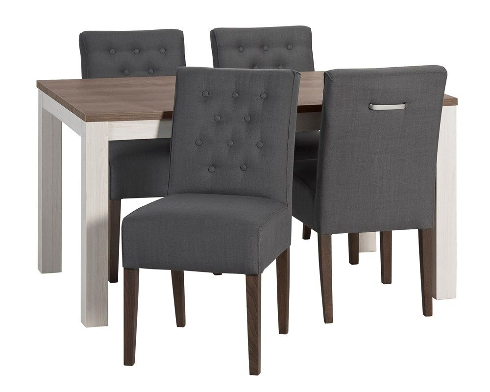 Eetkamertafel lynn met stoel ginger kitchen