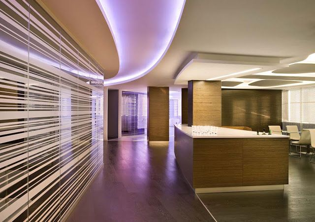 // Mood lighting...textural spaces