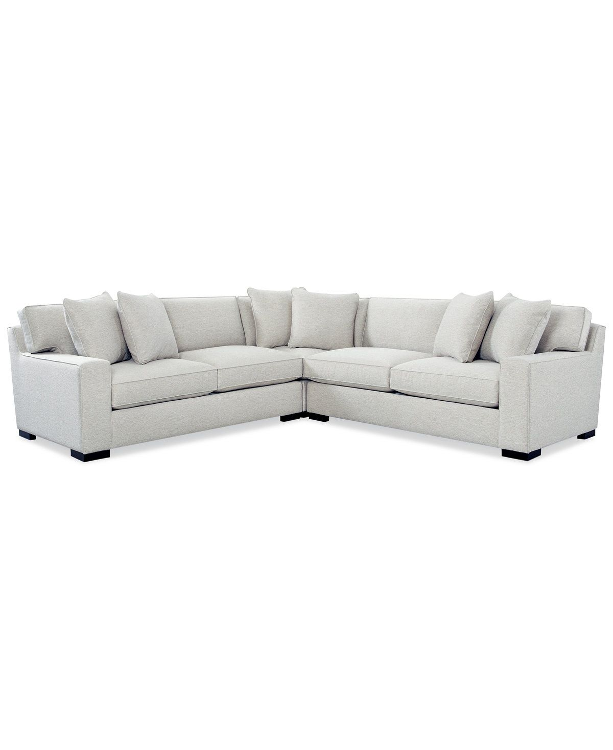 Bangor 3 Pc Sectional Sofa Only At Macy S Sectional Sofas