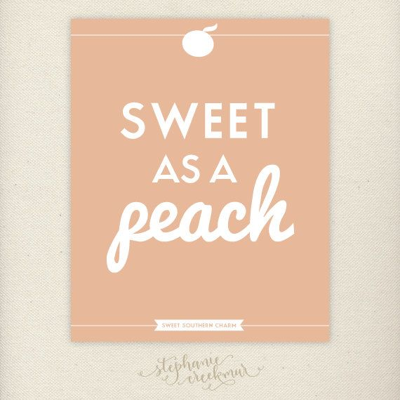 southern sayings 8 x 10 sweet as a print sweet