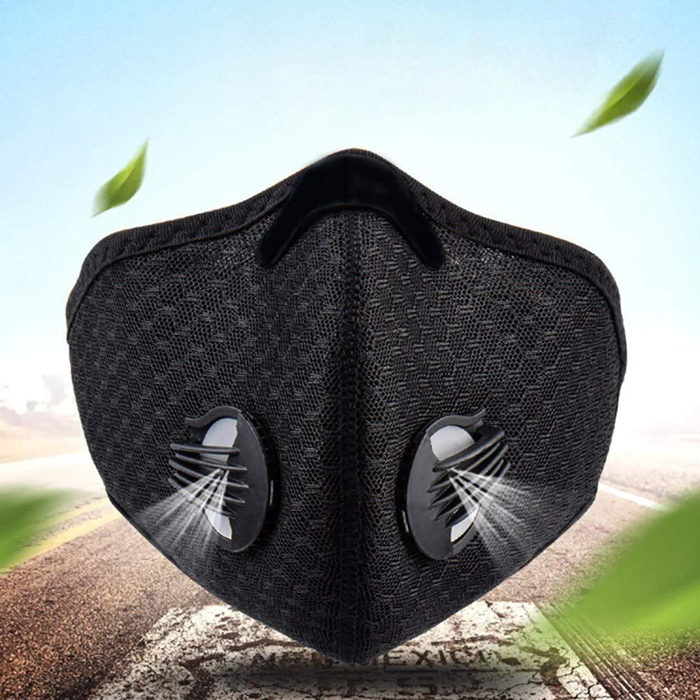 Dustproof Mask with Exhalation Valve in 2020 Cycling