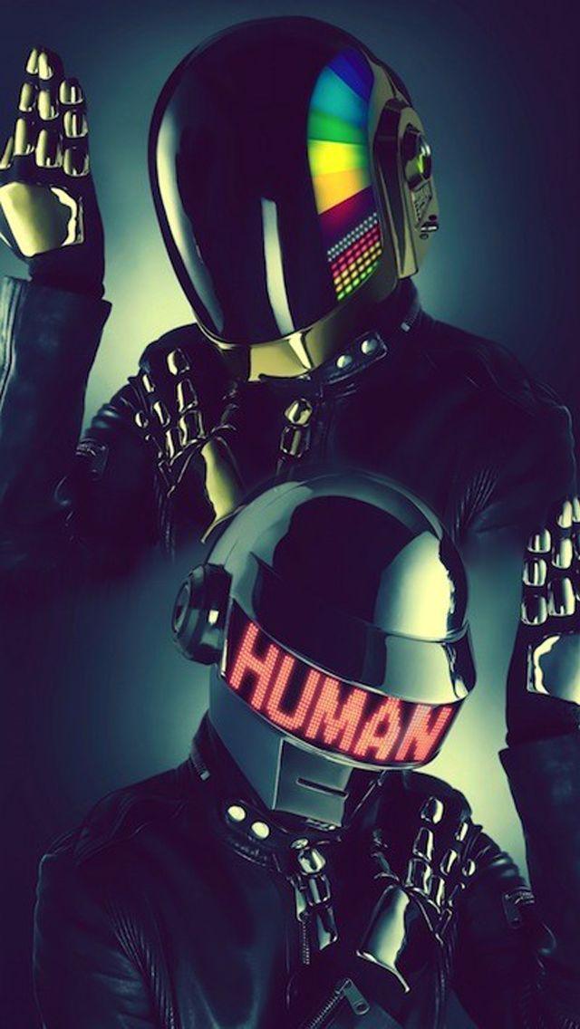 Music iPhone Wallpaper HD Daft Punk | Papel de parede ...