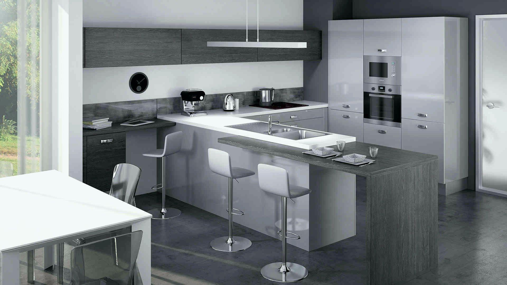 New Cuisine Luna Brico Depot Cuisine Moderne Cuisine Moderne Grise Cuisine Americaine