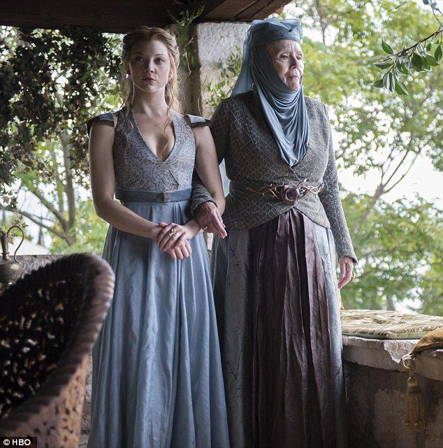 Her usual look: Natalie is famous for playing Margaery Tyrell in Game Of Thrones
