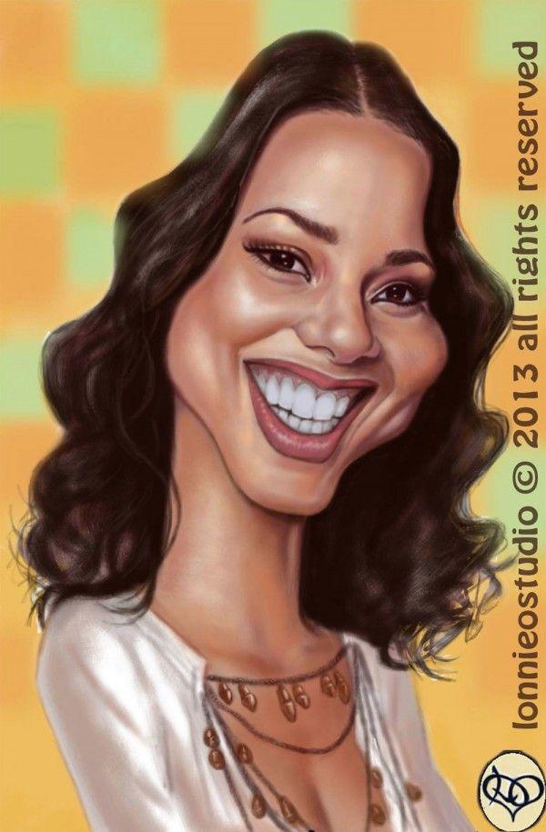Resultado de imagen para Alicia Keys #Caricature