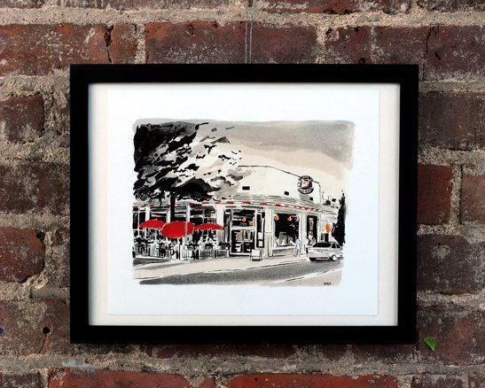 can can - carytown, richmond va - giclee print | peyton's rva art ...