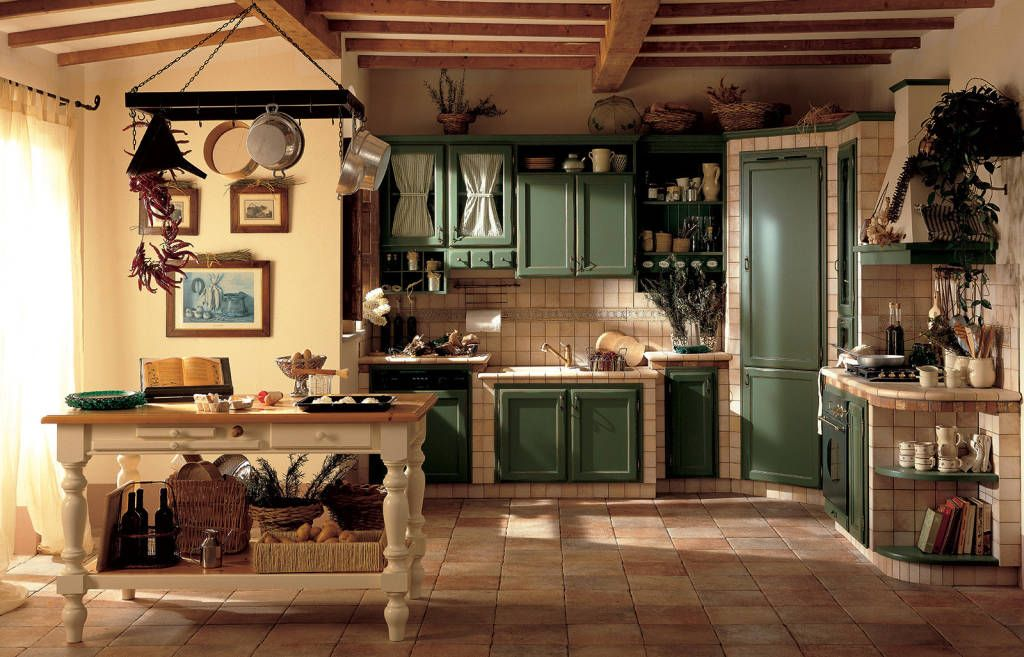 Foto di cucina in stile in stile rustico : alice | Architecture ...