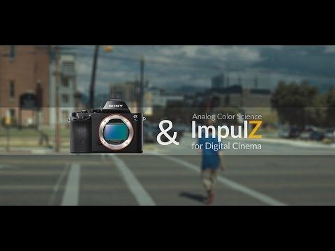 Sony A7s - SLOG 2 Color Grading: Film Look with VisionColor