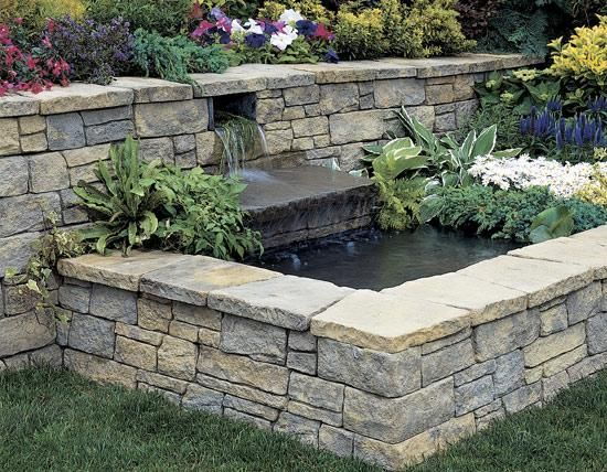retaining walls landscaping is to beautify the external piece of land and renovating it into a