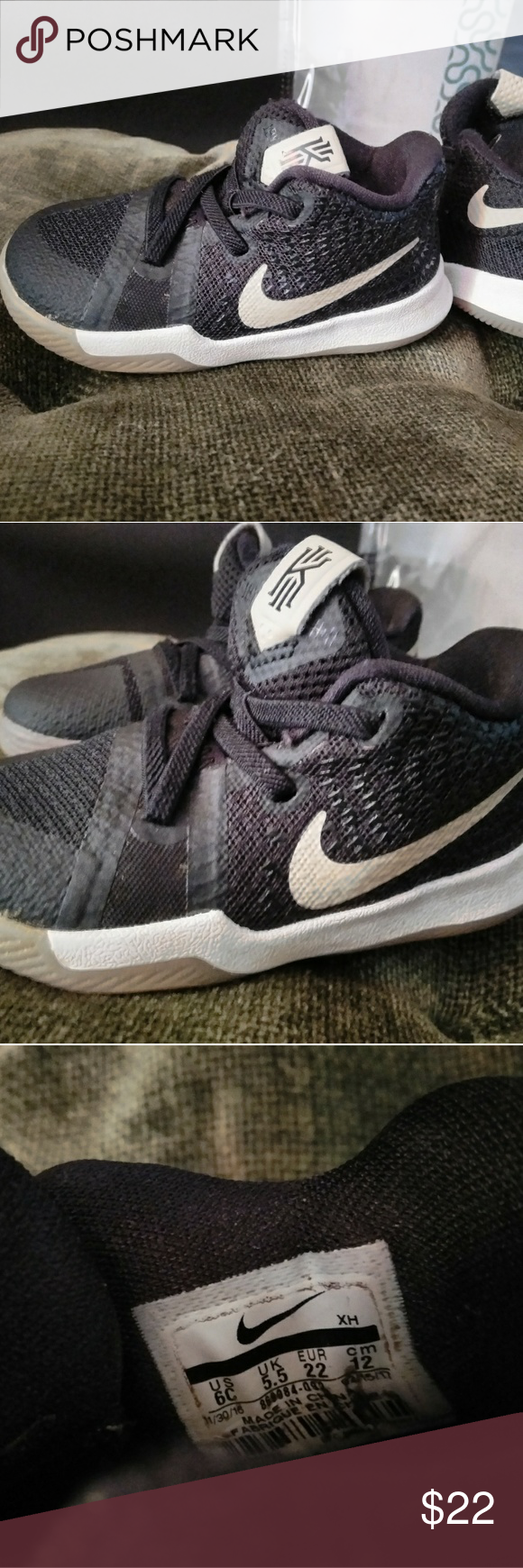 fc0bb7227a96 Kyrie Irving toddler 6c shoes Gently used. No scuffs. Smoke free home. My