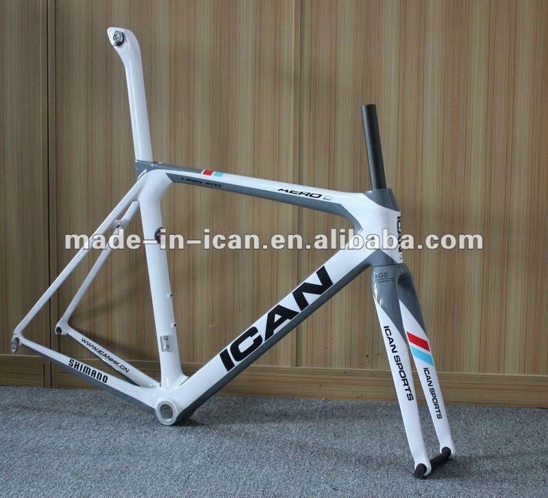 2013 nuevo diseño. Lleno de carbono bicicleta marco, mejor color ...