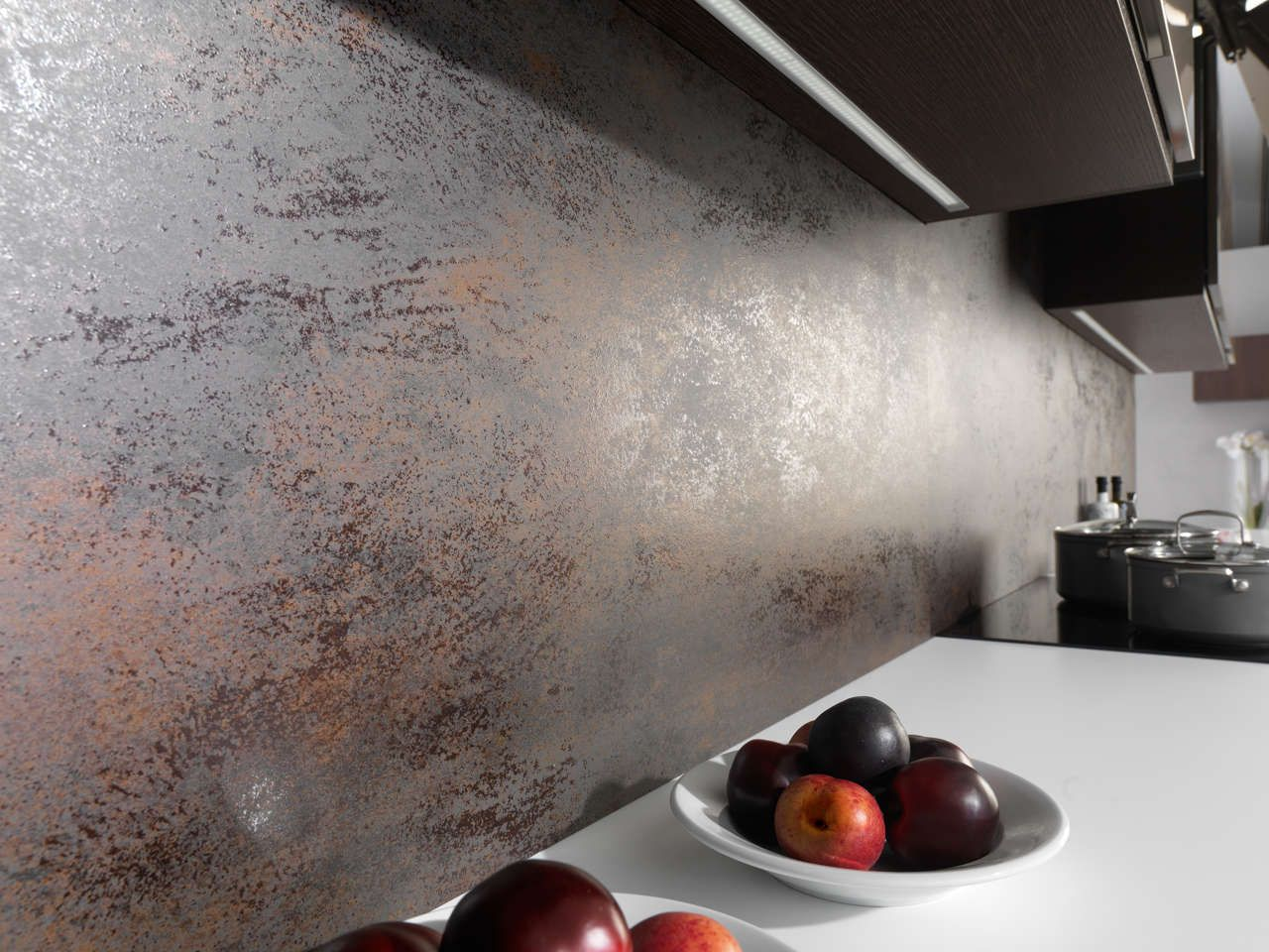 Carreaux Muraux à Effet Métallique PORCELANOSA Déco Cuisine - Carrelage mural exterieur pour idees de deco de cuisine