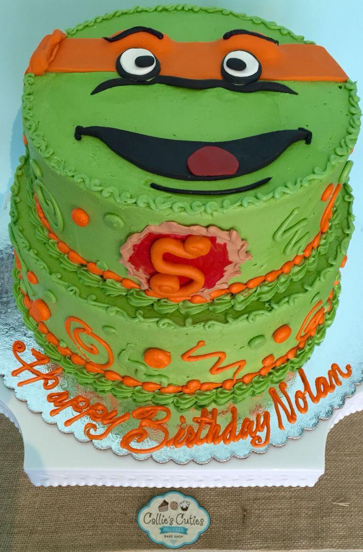 Tmnt Michaelangelo Birthday Cake Cowabungadude Ccnutfree
