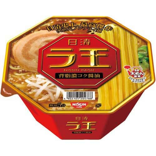 日清食品 日清 ラ王 背脂濃コク醤油 12個入   timein.jp