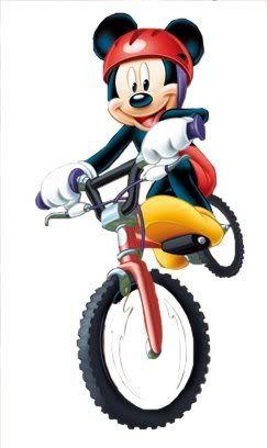 I Like Riding A Bike Mickey And Friends Mickey Mouse Disney Art
