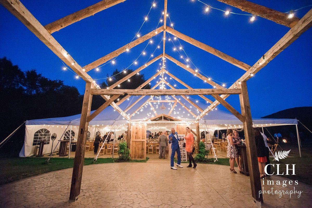 Burlap and beams thurman ny wedding rustic wedding