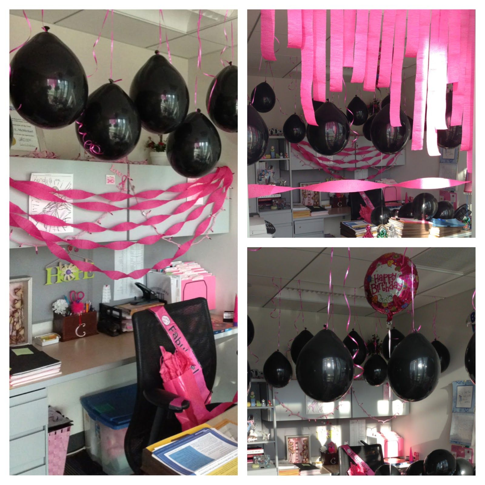40th Birthday Party Themes 40th Birthday Decorations Office
