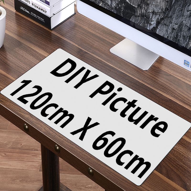 120cm 100cm Diy Custom Mouse Pad Xl Super Grand Large Customized Mousepad Gaming Anime Keyboard Mat Desk Protector Custom Mouse Pads Desk Protector Diy Picture