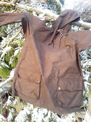 Wilderness Living - : Dyed Swedish Army snow smock