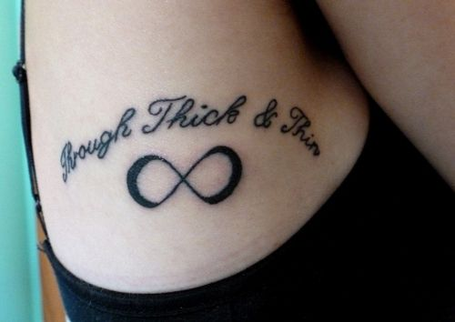 Through Thick And Thin Tattoos Pinterest Tattoos Thin Tattoo