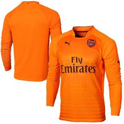 Arsenal FC Puma Goalkeeper's Long Sleeve Jersey – Orange