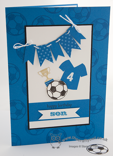 The Crafty Owl Football Mad Boy S Birthday Card Birthday Cards For Boys Kids Birthday Cards Birthday Cards For Men