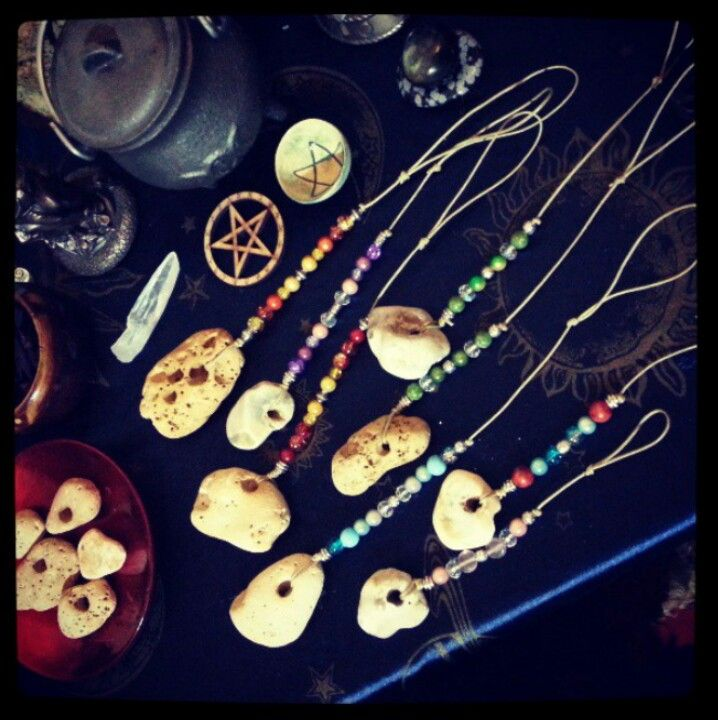 Hag Stone Talismans Hag Stones Talisman She S A Witch Hag stones can be any type of stone as long as they possess a natural hole through it and if in your possession, should be considered a sacred object. hag stone talismans hag stones